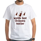 Worlds Best Orchestra Teacher Shirt
