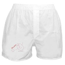 Funny Potty training Boxer Shorts