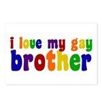 I Love My Gay Brother Postcards (Package of 8)