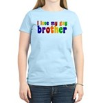 I Love My Gay Brother Women's Light T-Shirt