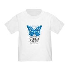 Child Abuse Butterfly T