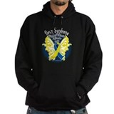 Down Syndrome Butterfly 3 Hoody