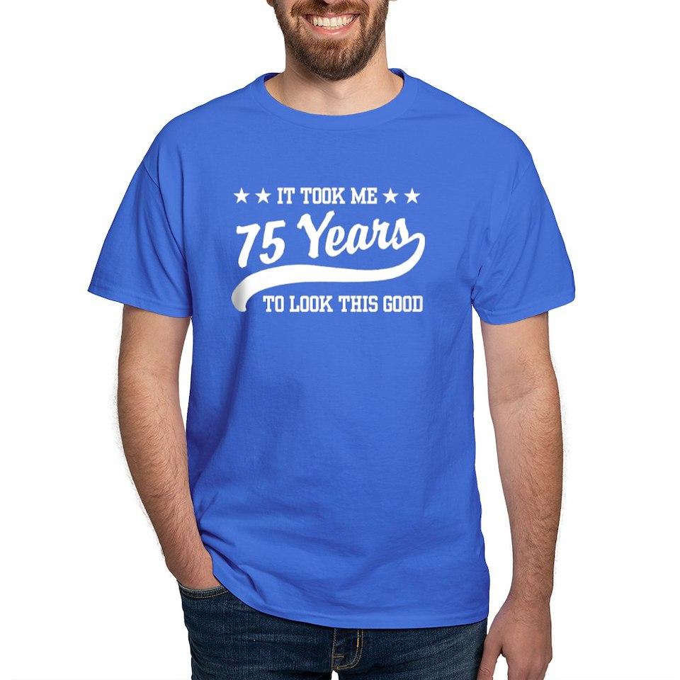 75Th Birthday T Shirts Tees