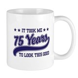 Funny 75th Birthday Small Mug
