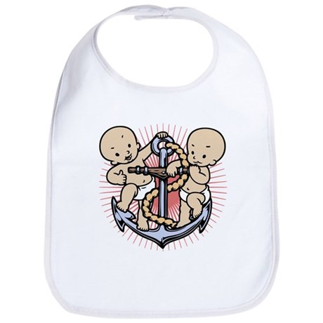 Anchor Babies Bib