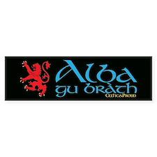 C&P Alba Gu Brath Bumper Sticker
