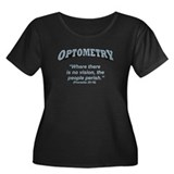 Optometry / Perish Women's Plus Size Scoop Neck Da