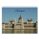 Budapest Wall Calendar