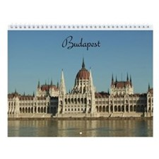 Budapest Wall Calendar