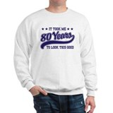 Funny 80th Birthday Sweater
