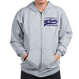 Funny 80th Birthday Zipped Hoody