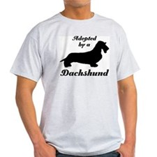 ADOPTED by a Dachshund T-Shirt