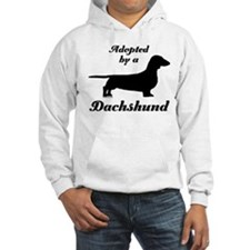 ADOPTED by a Dachshund Hoodie