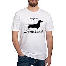 ADOPTED by a Dachshund Shirt