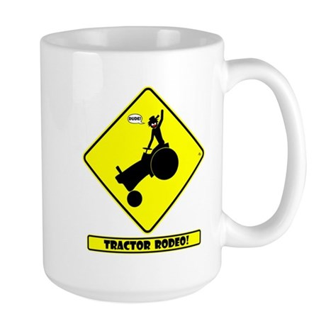 RODEO DANGER Mugs Large Mug