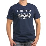 Firefighter Tattoos Men's Fitted T-Shirt (dark)