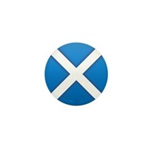 Scottish Saltire Mini Button (100 pack)
