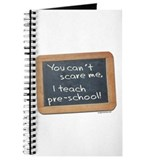 Can't scare me pre-school Journal
