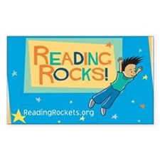 Reading Rocks! Rectangle Decal