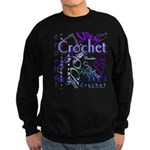 Crochet Purple Sweatshirt (dark)