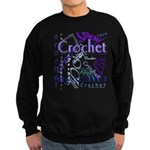 Crochet Purple Sweatshirt (dark)