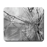 Cracked Windshield Mousepad