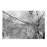 Cracked Windshield Postcards (Package of 8)