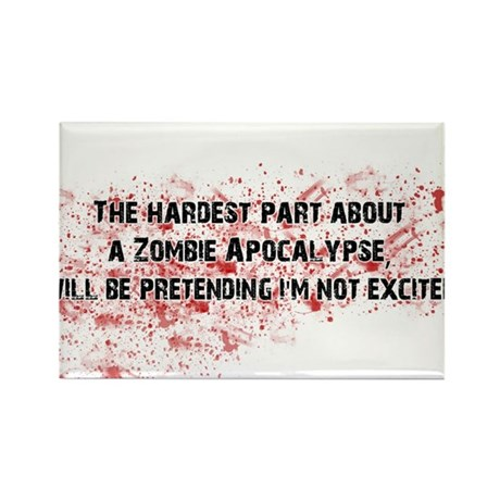 ZombieVerse Rectangle Magnet