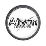 Ativan is a Nurse's Best Friend Wall Clock