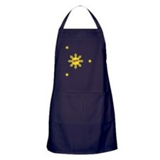 Flipside Sun and Stars Apron (dark)