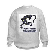 Plays With Salamanders Sweatshirt