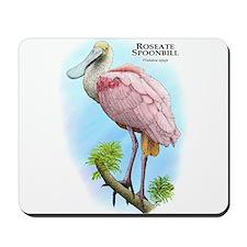 Roseate Spoonbill Mousepad