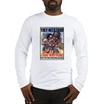 Plant More Beans Poster Art (Front) Long Sleeve T-