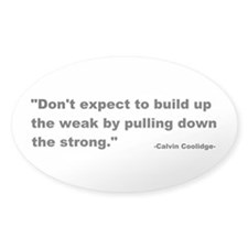 Calvin Coolidge Quote Decal