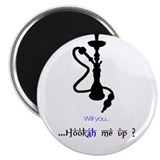 "Unique Hookah 2.25"" Magnet (10 pack)"