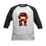 Bennie the beagle kids baseball jersey (Sweet Pets