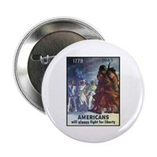 "Fight for Liberty Poster Art 2.25"" Button (10 pack"