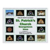 St. Patrick's Catholic Church- WindowWall Calendar