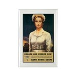 Nurses Needed Now Poster Art Rectangle Magnet (10