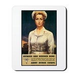 Nurses Needed Now Poster Art Mousepad