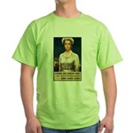 Nurses Needed Now Poster Art Green T-Shirt
