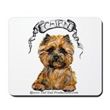 Cairn Terrier Bones Mousepad
