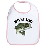 Kiss My Bass Bib