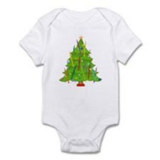 English Horn Christmas Infant Bodysuit