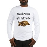 Cute Raising turtles Long Sleeve T-Shirt