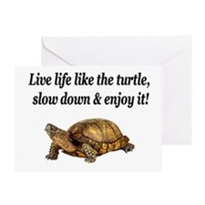 LOVE A TURTLE Greeting Card