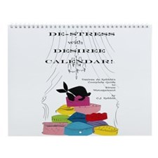Destress calendar Wall Calendar