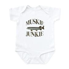MUSKIE JUNKIE Infant Bodysuit