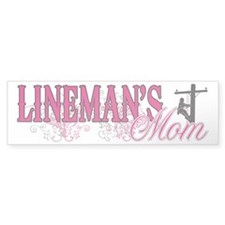 Lineman's Mom Bumper Sticker
