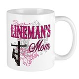 Lineman's Mom  Tasse